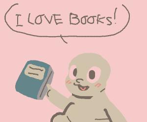 Globgobglogolab Loves Books