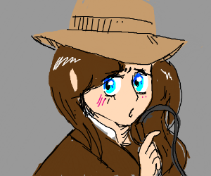 If Indiana Jones was an anime waifu