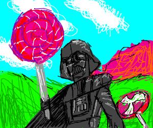 Vader in candyland