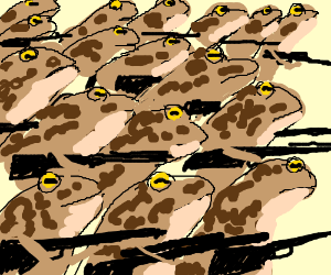 Battletoads at war