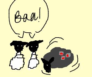sheep bowling