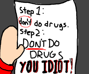 A guide to stop drug use?