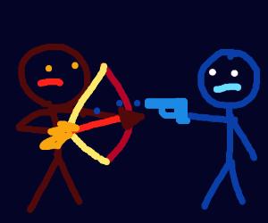 Arrows vs bullets