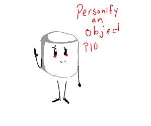 how to personify an object