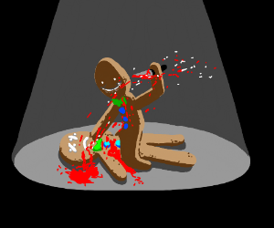 Gingerbread murderer