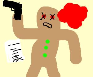 gingerbread man homicide