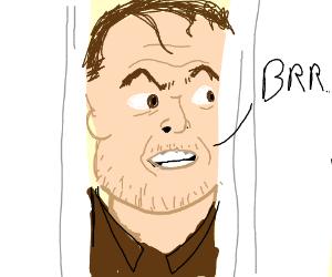 Frozen Jack Nicholson The Shining Drawception