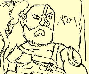 Kratos: Boy...