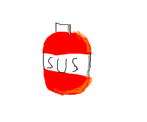 "bottle of ""sus"""