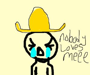 Crying Guy In Sombrero