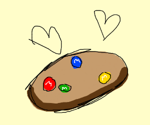 M M Cookies So Delicise Drawception