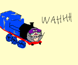Thomas the WAH engine (Waluigi)