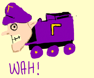 Waluigi the Tank Engine
