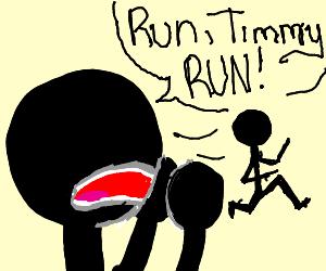 run Timmy, run!