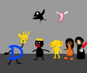 Drawception: Infinity War