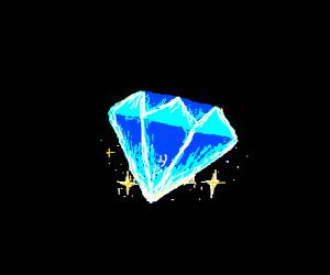 Sparking Blue Diamond