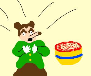 Somebody toucha my spaghett!