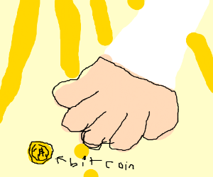 Hand of god reaches to purge bitcoin
