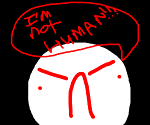 @#??@ angry creature not human