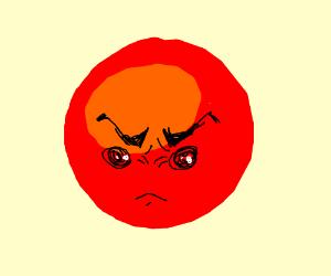 angry emoji face
