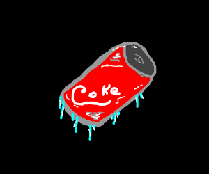 Too many cans of soda, but there's only one