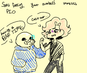 Sans feeling your avatar's muscles PIO