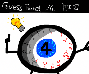Guess what panel you're on PIO