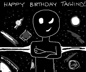 Happy Birthday TaiWind!