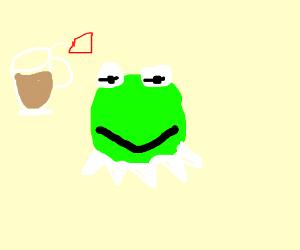 Kermit frog deep throat