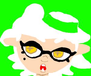 a splatoon character