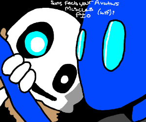 Sans feels your avatar's muscles PIO