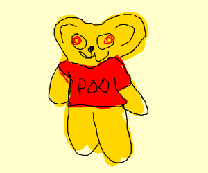 Winnie the Pooh but it's Praise the Sun