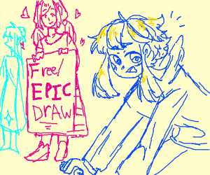 Epic Draw Pass It On
