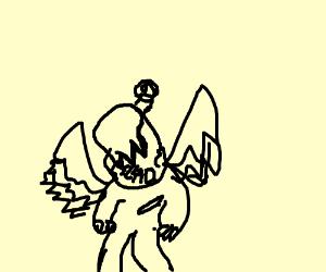 Fallen angel (super creepy)