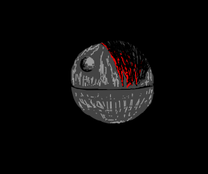 Edgy death star