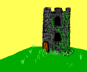 An Old Stone Tower