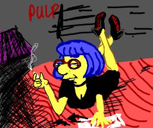 Pulp Fiction staring Luann Van Houten