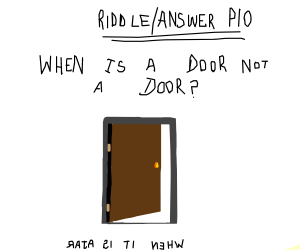Riddle/Answer PIO