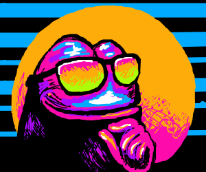 80's-style Pepe