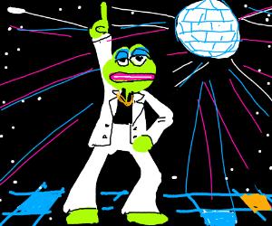 Pepe DISCO dancing