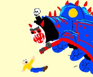 Monster thomas the train