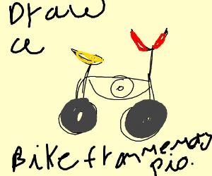 Draw a Bike from memory pio