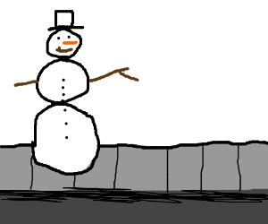 snowman on crack