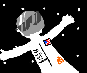cool astronaut