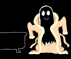 ghosts trying bathclothes