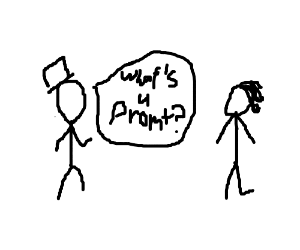 Xkcd character asks what a prompt is