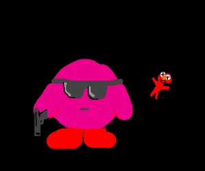 Kirby Gone Rogue: Elmo edition