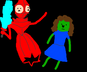 Golb And Margles Adventure Time Drawing By Magicmaster11 Drawception