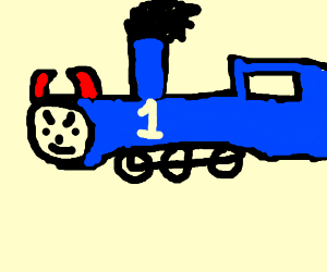 thomas tthe satan train