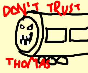 horney thomas tank engine